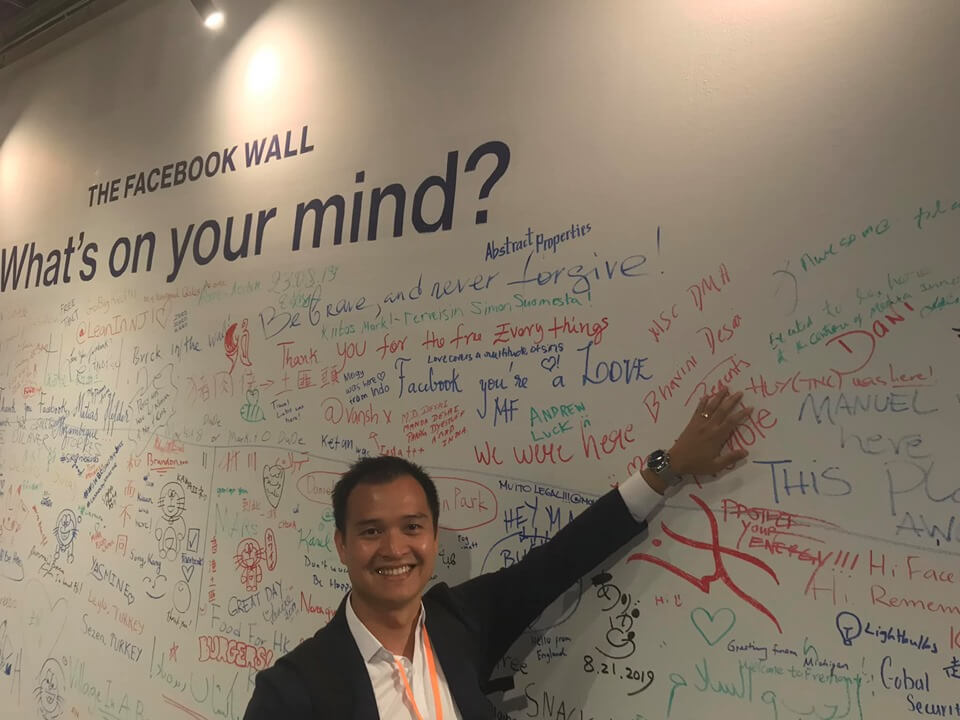 The Facebook wall