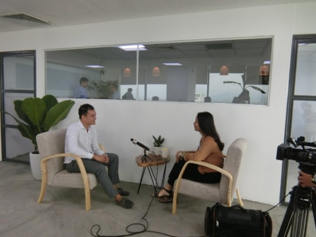 Our interview with Danang DRT news