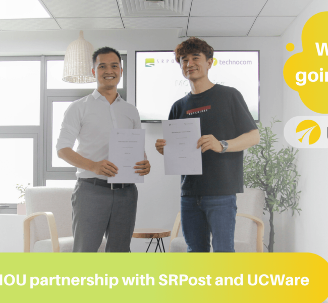 MOU with Korean partners: SRPost and UCWare